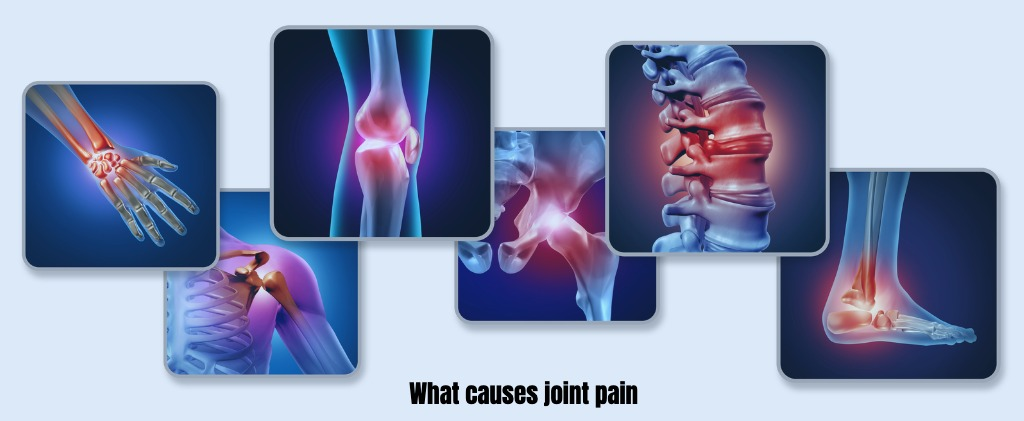 Pain of the joints  causes and signs